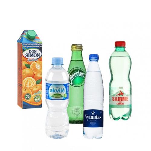 Vanduo ir kiti gėrimai
