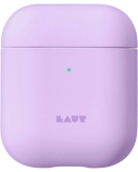 LAUT PASTELS for AirPods 1/2 Violet, Polycarbonate, Charging Case, Apple AirPods 1/2
