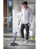 Bissell Mop SpinWave  Cordless operating, Washing function, Operating time (max) 20 min, Lithium Ion, 18 V, Blue/Titanium