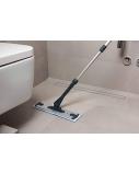 Polti Moppy Premium with sanitising base Cordless operating, Washing function, Black