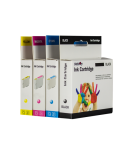 Neoriginali Print4U HP 17 (C6625A), trispalvė kasetė rašaliniams spausdintuvams, 480 psl.