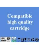 Neoriginali Print4U Epson T0802 (C13T080240), žydra kasetė rašaliniams spausdintuvams, 300 psl.