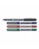 Gelinis rašiklis su kamšteliu UNI, UB-150, žalias, 0,5 mm brėžio storis