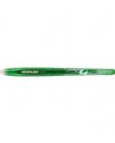 STANGER Gelinis rašiklis su rašalo trintuku Eraser 0.7 mm, žalias, pakuotėje 12 vnt 18000300078