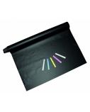 STANGER Lipni juoda plėvelė, tinkanti rašymui kreida 45x200 cm,1 pcs 41000013