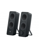 LOGITECH Z207 2.0 Stereo Computer Speakers with Bluetooth Black (980-001295)