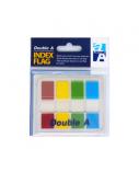 Double A Plastikiniai spalvoti žymekliai 4C Half Color
