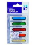 Double A Plastikiniai žymekliai - indeksai 5C 45x12 mm Full colors