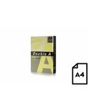 Spalvotas popierius Double A, 80g, A4, 500 lapų, Cheese