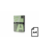Spalvotas popierius Double A, 80g, A4, 500 lapų, Lagoon