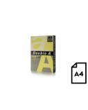 Spalvotas popierius Double A, 80g, A4, 500 lapų, Butter