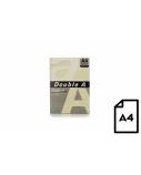 Spalvotas popierius Double A, 80g, A4, 500 lapų, Ivory
