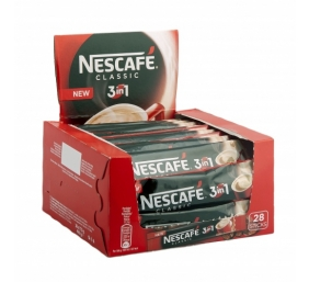 NESCAFE 3in1 Classic 28 vnt. x 17,5 g dėžutė