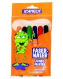 STANGER Flomasteriai Jumbo, 6 spalvos 430002