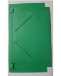 Aplankas su gumelėmis 15MM, žalias