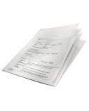 Aplankas L Leitz Combifile, A4, skaidrus, plastikinis, 3 skyrių  0812-208