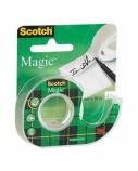 Lipni juostelė Scotch® 810 Magic, 19mm x 7.5m, nematoma, su laikikliu  1114-118
