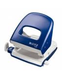 Skylmuša Leitz 5008, mėlyna, iki 30 lapų, metalinė 1101-118