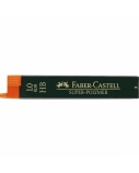 Grafitai Faber-Castell, 1 (0.9) mm, HB, super-polymer  1222-012