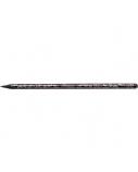 Pieštukas Centrum Glamour, juodas su blizgučiais  1221-025