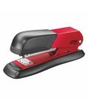 Segiklis Rapid FM12, raudonas, iki 25 lapų, sąsagėlės 24/6, 26/6, metalinis  1102-100