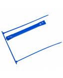 Įsegėlė  dokumentams archyvinė Forpus, plastikinė, mėlyna (1)  0824-007