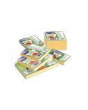Lipnūs lapeliai Forpus, 75x75mm, geltoni (1x100)  0717-103