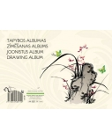 Tapybos albumas SMLT, A4, 160 g, klijuotas, (40)  0708-204