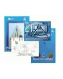 Popierius braižybai SMLT, A4, 160 g, albumas, klijuotas, (20)  0708-007