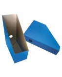 Dėklas vertikalus SMLT, 115x245x300mm, mėlynas, kartoninis, ekologiškas  1003-003