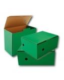 Archyvinė dėžė SMLT, 150x350x250mm, žalia, ekologiška  0830-310