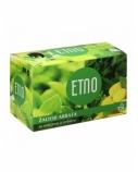 ETNO Žalioji arbata su mėtomis ir imbieru 30g (1,5g x 20 vnt.)