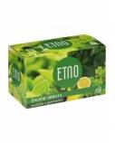 ETNO Žalioji arbata su citrina ir ginkmedžiu 40g (2gx20 vnt.)