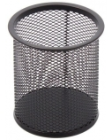 Pieštukinė Forpus, apvali, juoda, tuščia, perforuoto metalo  1005-014