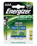 Elementas įkraunamas Energizer HR03 AAA, 700mAh, Ni-MH, 2 vnt.  1715-204