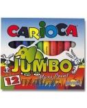 Flomasteriai Carioca Jumbo, (12)  1302-111
