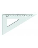 Liniuotė-trikampis KOH-I-NOOR, plastikinis, 60/200 mm  1225-005