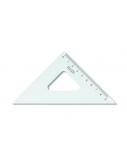 Liniuotė-trikampis KOH-I-NOOR, plastikinis, 45/113 mm  1225-006