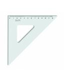 Liniuotė-trikampis KOH-I-NOOR, plastikinis, 45/141 mm  1225-008