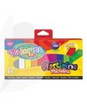 Plastilinas Colorino Kids, kvadratinės formos, 12 spalvų 02892