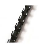 Spiralė įrišimui Forpus plastikinė 10 mm, 100 vnt., juoda