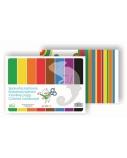 Kartonas SMLT, A4, 190 g, spalvotas, vienpusis, (8)