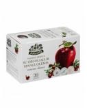 ŽOLYNĖLIS Vaisinė arbata Vasaros skonis su obuoliais ir spanguolėmis, 50g (2,5g x20)