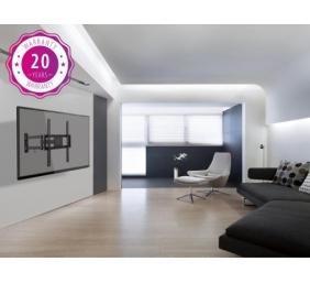 Klasikinis pakreipiamas sieninis televizoriaus laikiklis juodas VESA: 200x200,300x300,400x200,400x40
