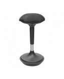 Reguliuojamo aukščio svyranti kėdė, juoda