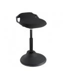 Reguliuojamo aukščio kėdė, juoda
