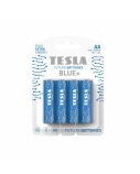 Baterija Tesla AA Blue+ Zinc Carbon R06 900 mAh 4 vnt.