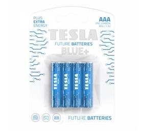 Baterija Tesla AAA Blue+ Zinc Carbon R03 550 mAh 4 vnt.