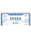 Baterija Tesla AAA Blue+ Zinc Carbon R03 550 mAh 24 vnt.