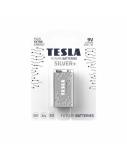 Baterija Tesla 9V Silver+ Alkaline 6LR61 580 mAh 1 vnt.